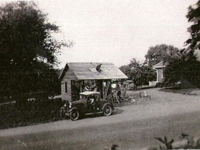 1944 Construction of Lazarus Roadside Market